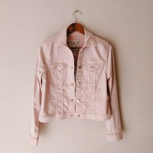 Michael Kors Pink Denim Jacket